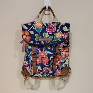 Lily Bloom Floral Backpack
